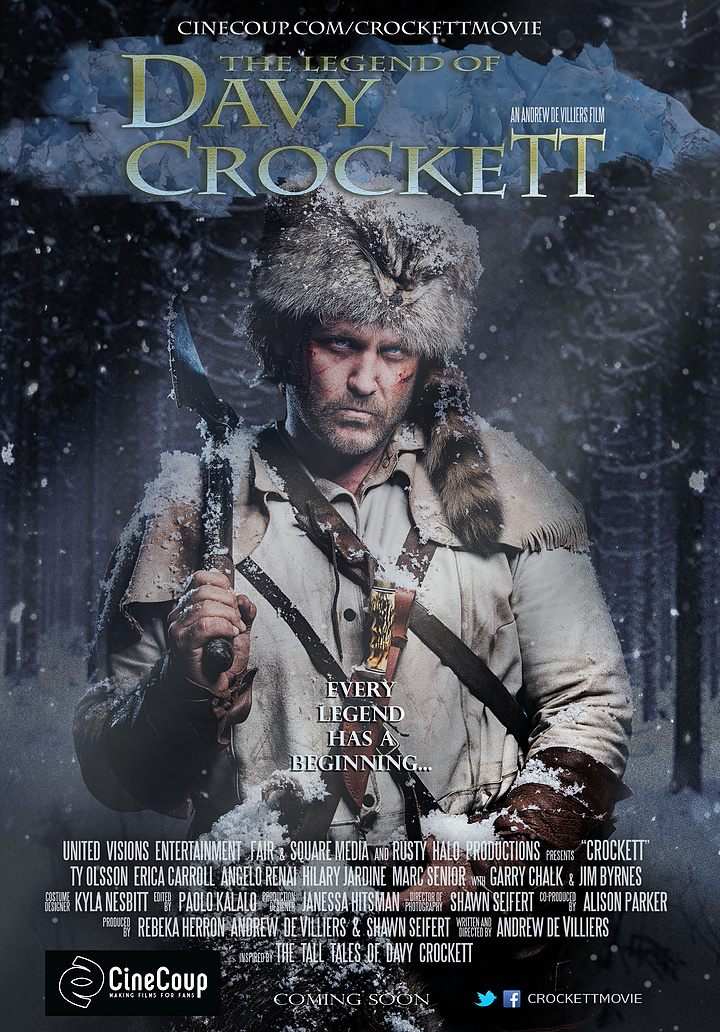 Mission #3: The Poster A - The Legend of Davy Crockett