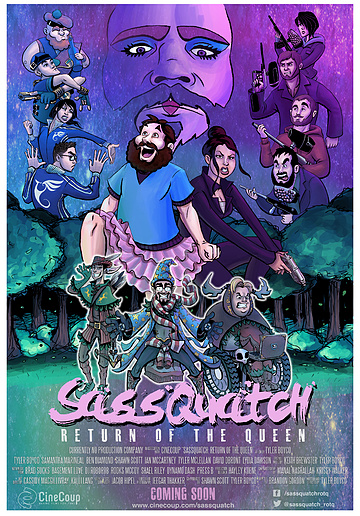 Mission #3: The Poster A - Sassquatch: Return of the Queen