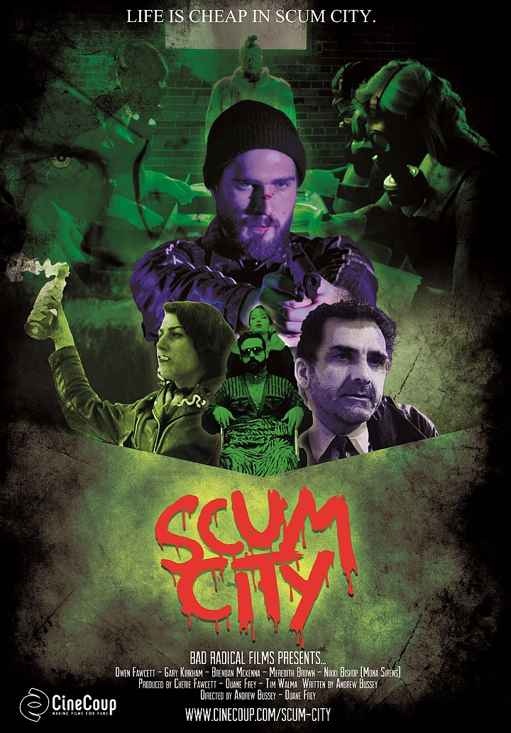 Mission #3: The Poster A - Scum City