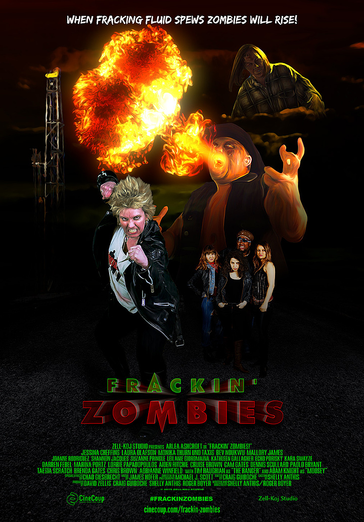Mission #3: The Poster A - Frackin' Zombies!