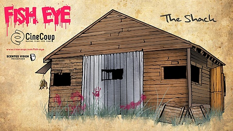 Fish Eye's Shack: This shack is a key location in the film. It's Fish Eye's  secluded lair where all of his gruesome and evil schemes are conspired. Who doesn't love a creepy old shack in a horror movie?
