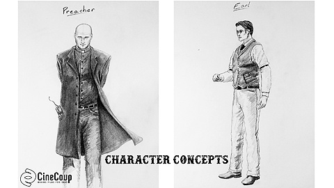 Secondary Character Concepts: A couple of the other characters we meet