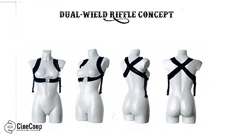 Dual-Wield Riffle Holster Concept: Concept for a new holster