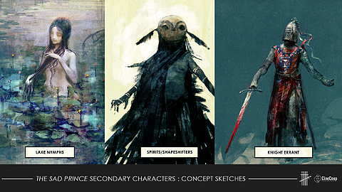 CHARACTERS: Concept Art by Seb McKinnon