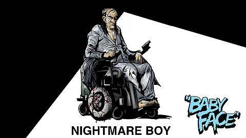 Nightmare Boy: Revealing our Antagonist in concept art form. This is Nightmare Boy, the crime lord Baby Face is on a mission to kill. They share a secret that is revealed in the final film.