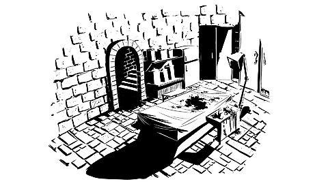 04 - The Surgeon's Dungeon: Art by Matthew Douglas Ingraham