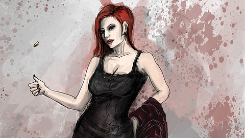 Jenny: Our lead character, angry and edgy.